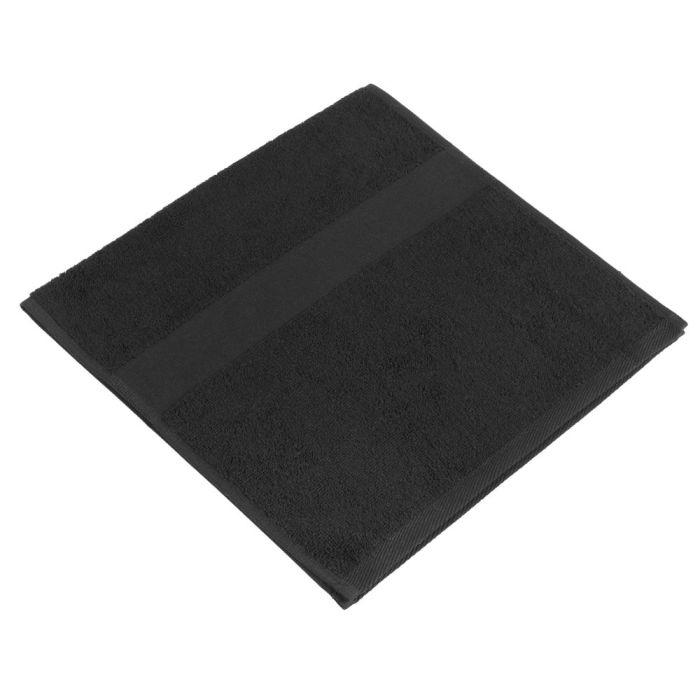 Полотенце махровое Small, 35х70 см, чёрное