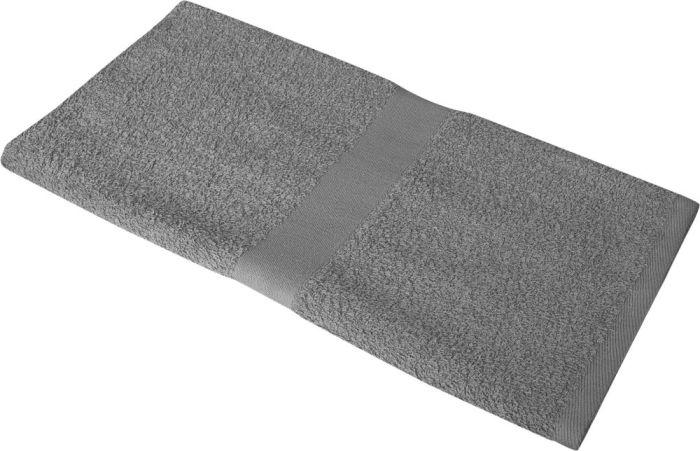 Полотенце махровое Medium, 100х50 см, серое