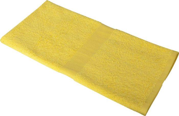 Полотенце махровое Medium, 100х50 см, жёлтое