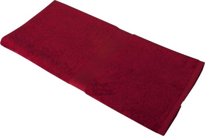 Полотенце махровое Medium, 100х50 см, бордовое