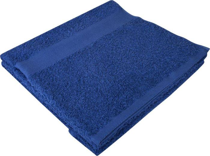 Полотенце махровое Large, 140х70 см, синее