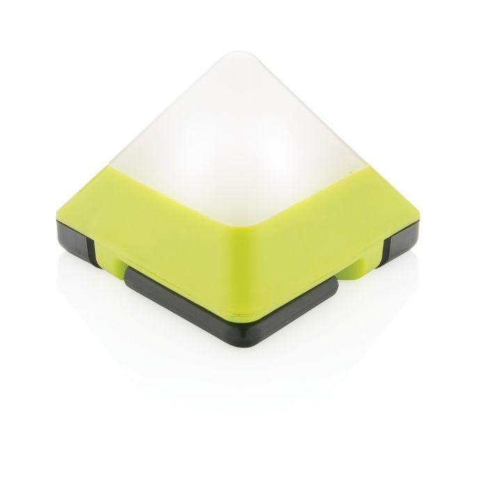 Светильник Triangle, цвет белый с зелёным