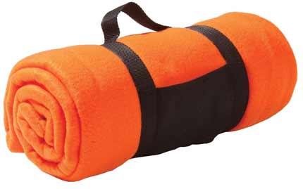 Плед Soft, 127x152 см, оранжевый