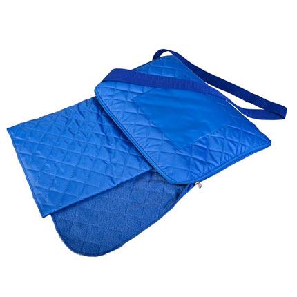 Плед для пикника Soft & dry, 115х145 см, ярко-синий