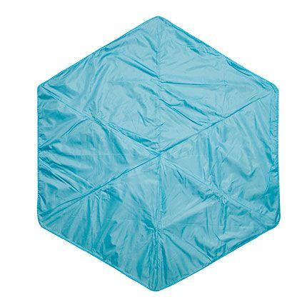 Плед для пикника Hexo, цвет синий