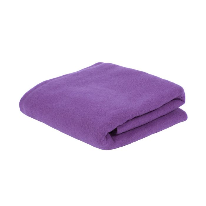 Плед PLAIN, фиолетовый