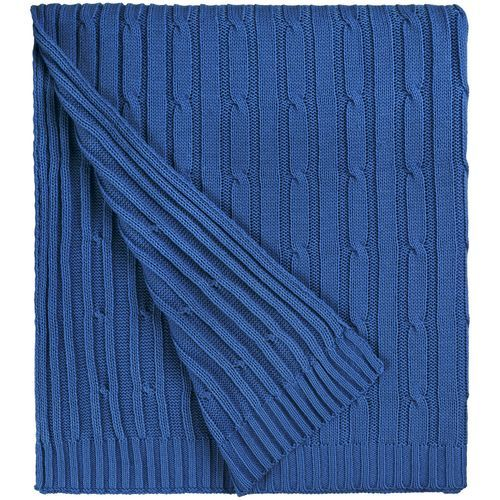 Плед Remit, ярко-синий (василек)