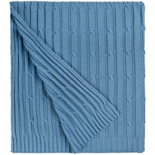 Плед Remit, синий (индиго)