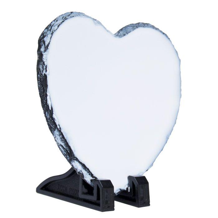 Фотокамень для сублимации, сердце 15х15 см, стандарт