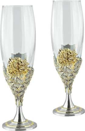 Набор: 2 бокала для шампанского в подарочной коробке