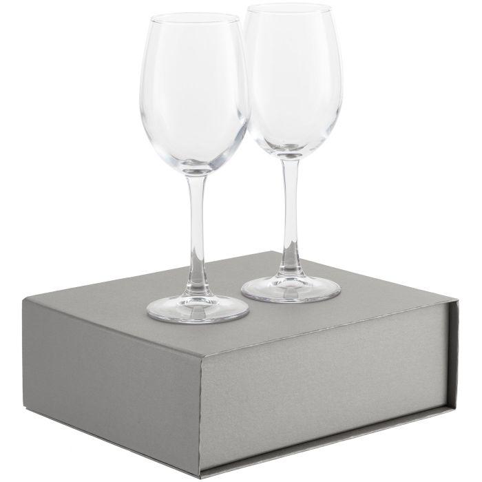Набор бокалов для вина Wine House, серебристый
