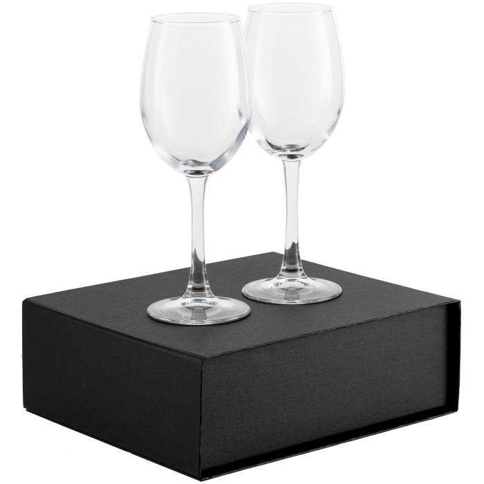 Набор бокалов для вина Wine House, чёрный