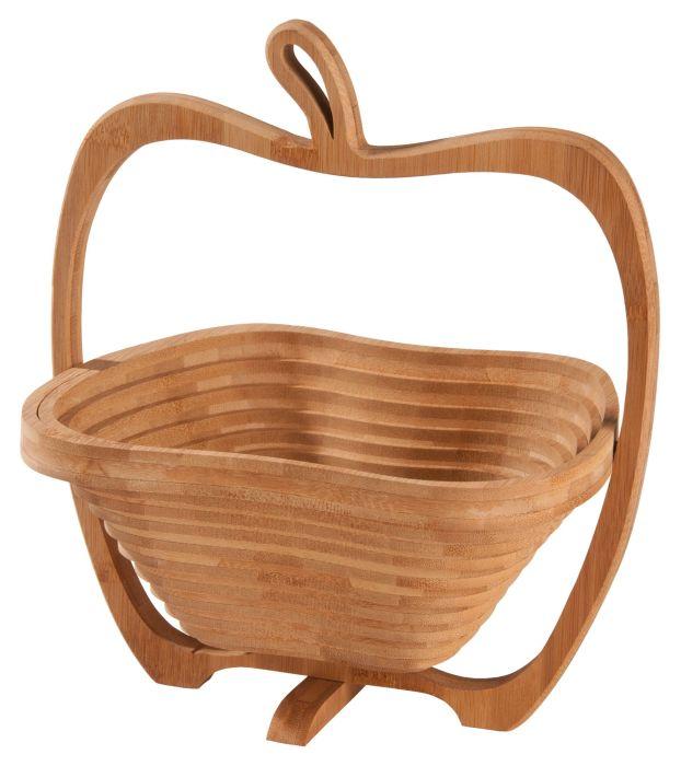 """Фруктовница из бамбука """"Яблоко"""""""