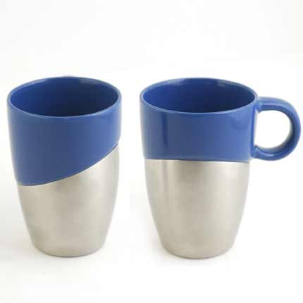 """Термокружка """"BeMax Cafe"""", 350 мл, синяя"""