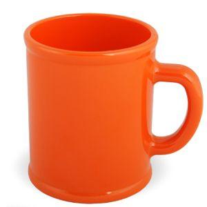 """Кружка """"Радуга"""", 300мл, пластик, оранжевая"""