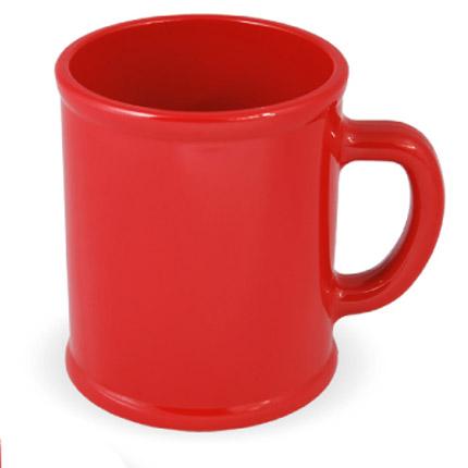 Кружка пластмассовая Lekker, цвет красный