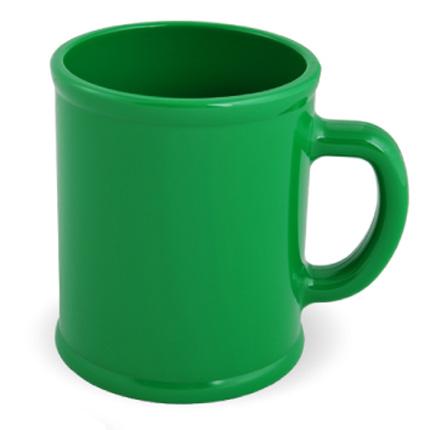Кружка пластмассовая Lekker, цвет зелёный