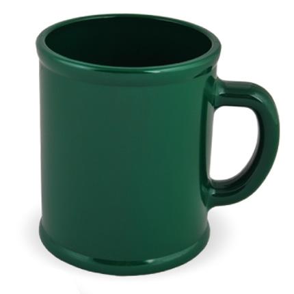 Кружка пластмассовая Lekker, цвет тёмно-зелёный