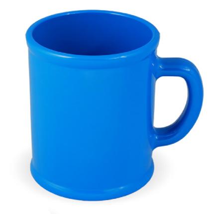 Кружка пластмассовая Lekker, цвет голубой