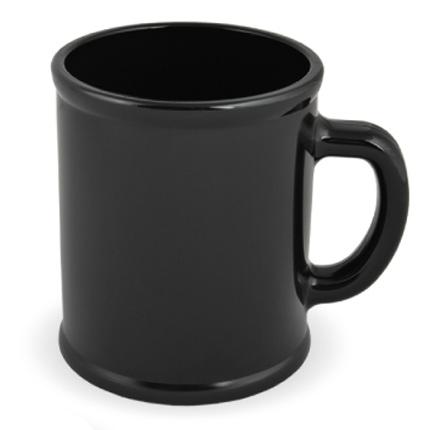 Кружка пластмассовая Lekker, цвет чёрный