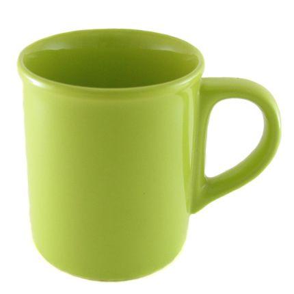 Кружка керамическая 250 мл с загубником, зеленая