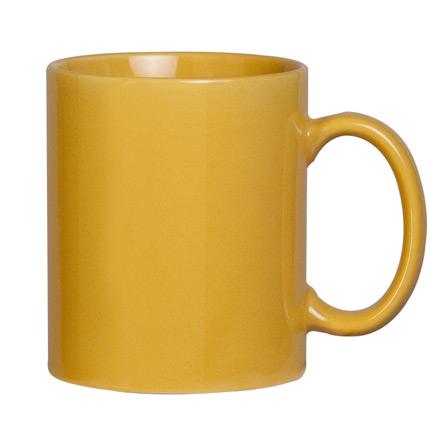 Кружка Promo, 300 мл, желтая