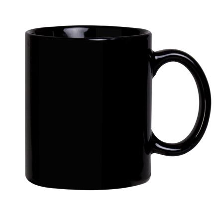 Кружка Promo, 300 мл, черная