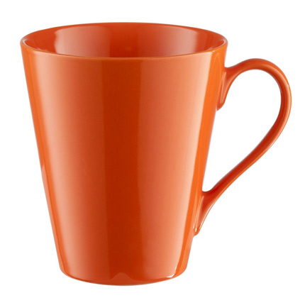 Кружка Bell, 300 мл, оранжевая