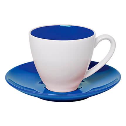 """Чайная пара """"Galena"""" 300 мл, цвет синий"""