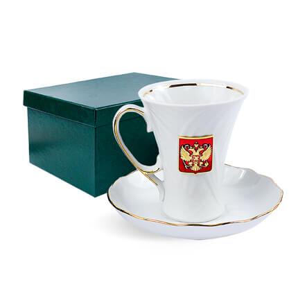 """Чайная пара подарочная """"ОФИЦИАЛЬНЫЙ ПРИЁМ"""""""