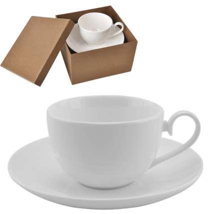 """Чайная пара """"Классика"""", 190 мл, в подарочной упаковке"""