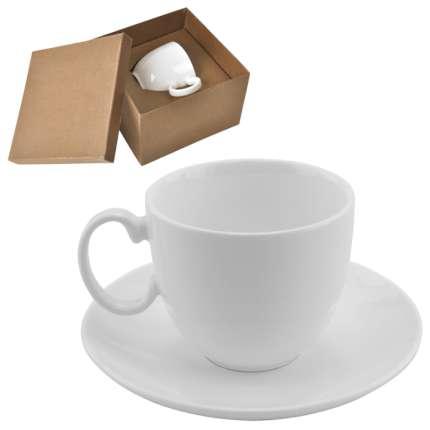 """Чайная пара """"Романтика"""", 210 мл, в подарочной упаковке"""