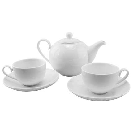 """Чайный набор """"Five o clock"""": чайник и две чайные пары"""