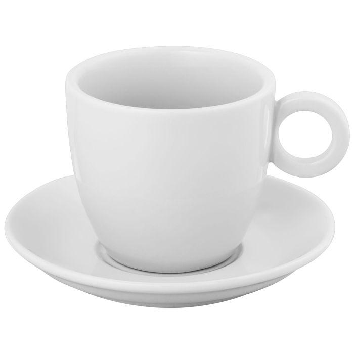 Кофейная пара Cheer: чашка и блюдце (200 мл)