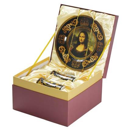 """Подарочный набор Коллекция Лувра """"Мона Лиза"""""""