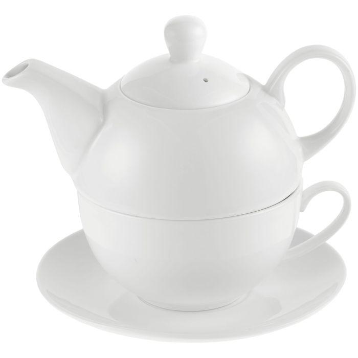 """Чайный набор """"Эгоист"""", белый"""