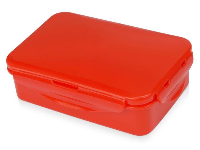 Герметичный ланч-бокс Foody с двумя секциями, 650 мл, красный