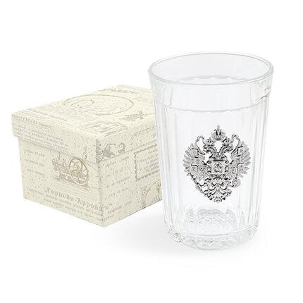 """Гранёный стакан """"ЦАРСКАЯ РОССИЯ"""""""