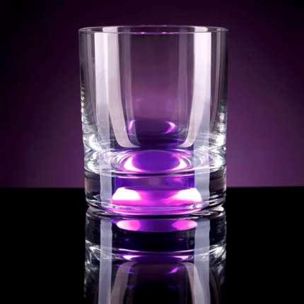 Бокал для коктейля, с подсветкой, цвет фиолетовый