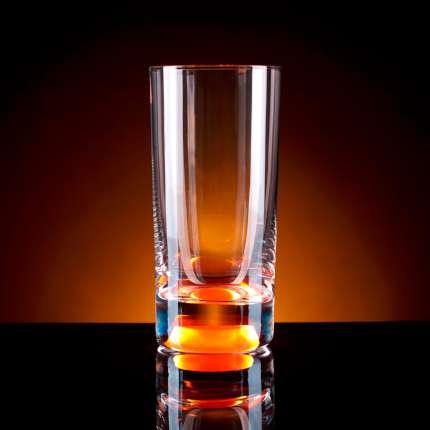 Бокал для воды, с подсветкой, цвет оранжевый