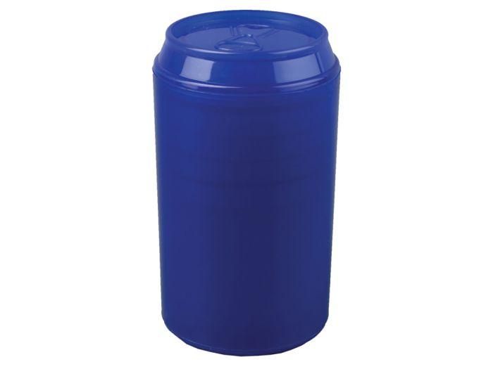 """Набор """"Plastglass"""": 4 стакана (125 мл) с открывалкой, цвет синий"""