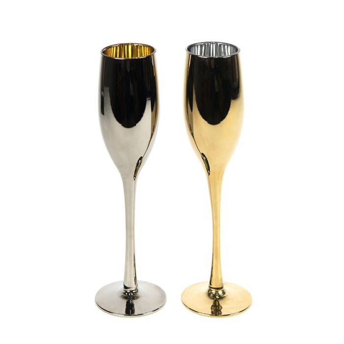 Набор бокалов для шампанского MOON&SUN, 2 шт.