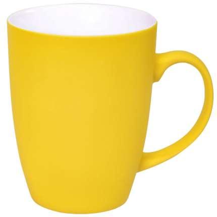 """Кружка """"Sweet"""" с прорезиненным покрытием, жёлтая"""