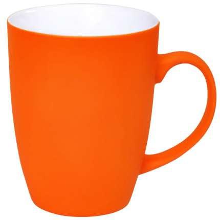 """Кружка """"Sweet"""" с прорезиненным покрытием, оранжевая"""