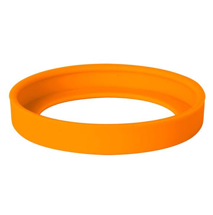"""Комплектующая деталь (силиконовое дно) к кружке """"Fun"""" арт.5080069, цвет оранжевый"""