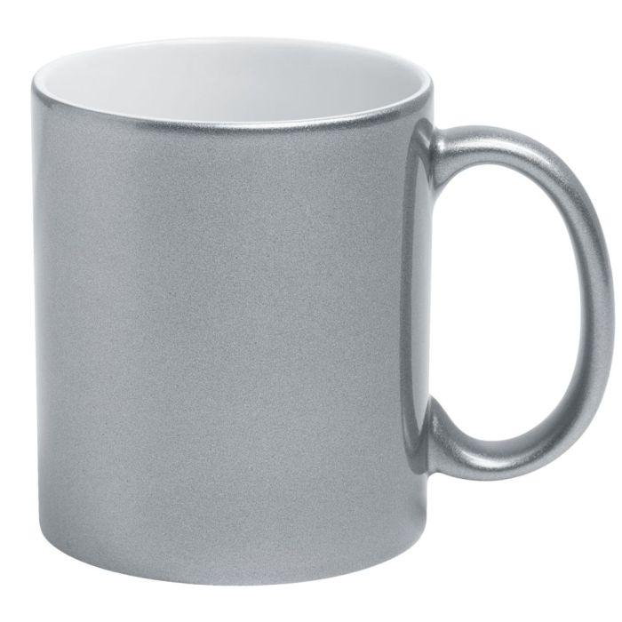 Кружка Ore для сублимационной печати, 330 мл, цвет серебристый