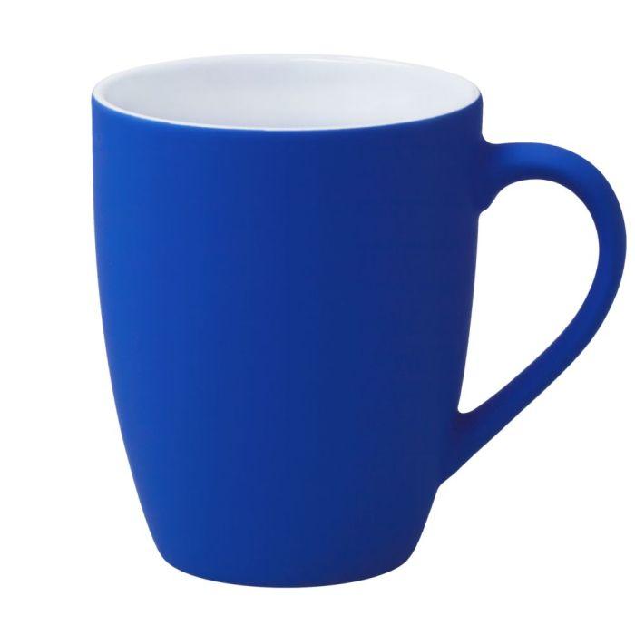 Кружка Good Morning c покрытием SOFT TOUCH, 360 мл, синяя