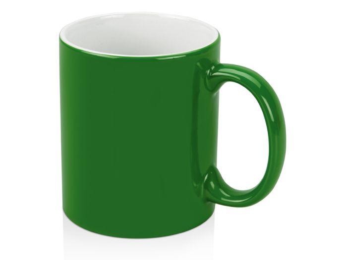 """Кружка """"Марко"""", 320 мл, внутри белая, цвет зелёный"""