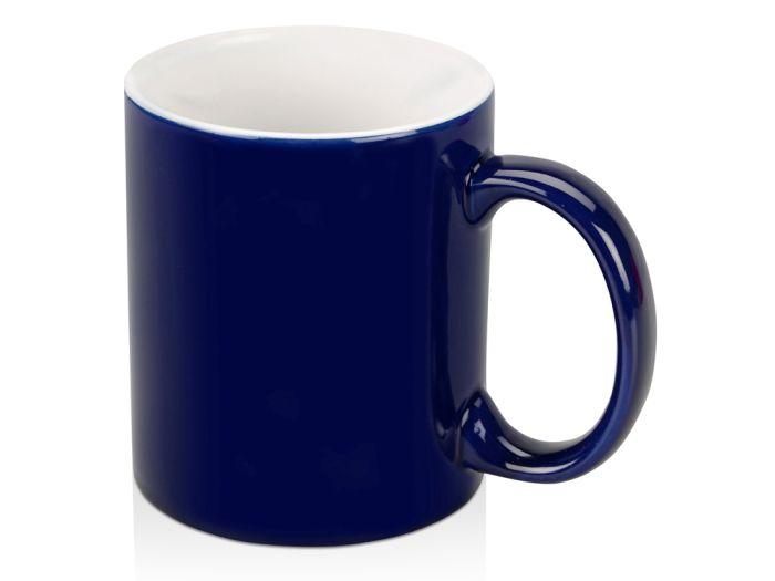 """Кружка """"Марко"""", 320 мл, внутри белая, цвет тёмно-синий"""