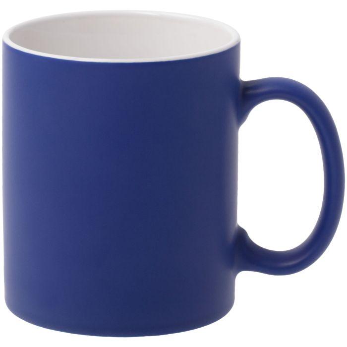 Кружка Promo матовая, объем 320 мл, синяя